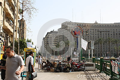 The famous Mogamma building in tahrir, Cairo Egypt Editorial Photo