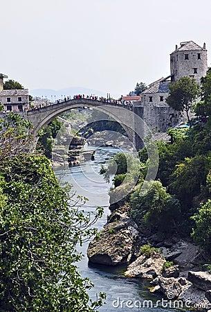 Famous old bridge