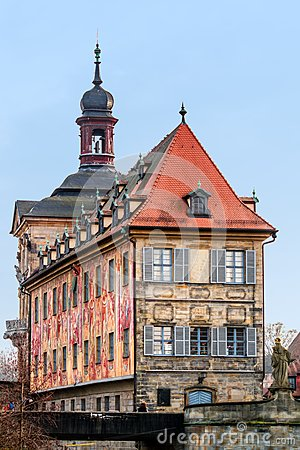 Famous Old City Hall of Bamberg