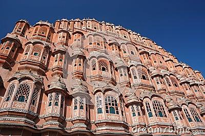 Famous Palace of winds or Hawa Mahal in Jaipur,Rajasthan,India