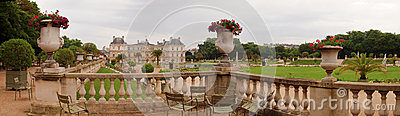 Famous places of Paris - Jardin du Luxembourg