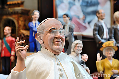 Famous puppets by Naples Editorial Image
