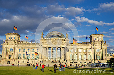 Reichstag, Berlin Editorial Image