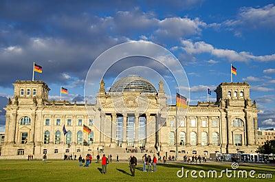 Reichstag, Berlin Editorial Image