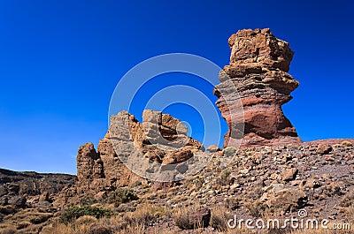 Famous rocks of Roques de Garcia, Tenerife