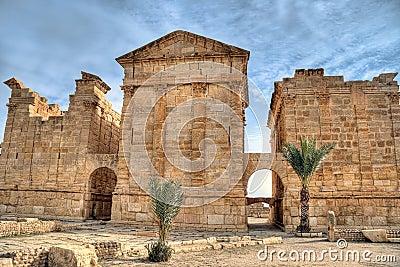 Famous ruins od Sbeitla
