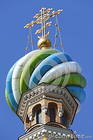Famous Russian landmark