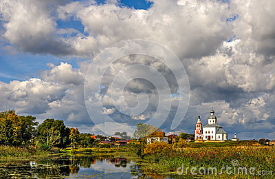 Famous russian town Suzdal