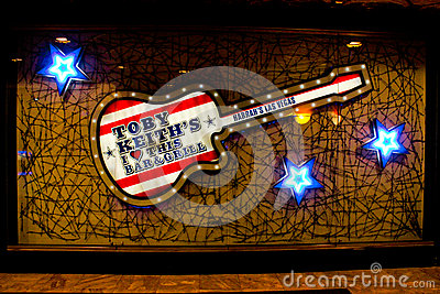 Toby Keith s, Las Vegas, NV Editorial Stock Image