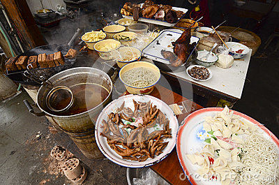 Famous snack in Sichuan.