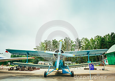 Famous Soviet Plane Paradropper Antonov An-2 Heritage Of Flying Editorial Stock Image
