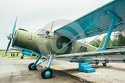 Famous Soviet Plane Paradropper Antonov An-2 Heritage Of Flying Editorial Stock Photo