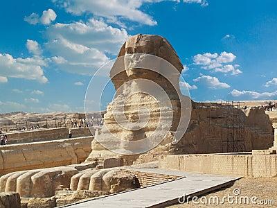 Famous sphinx