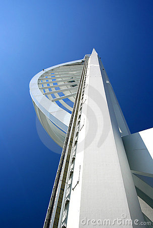 Famous Spinnaker tower,Portsmouth, England.
