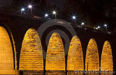 Famous Stone Arch Bridge