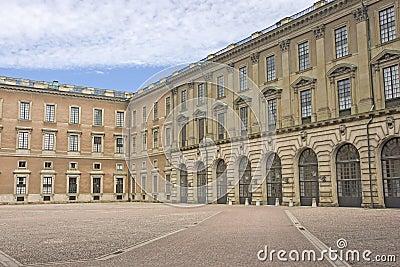 Famous Swedish Royal Palace