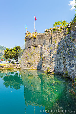 Famous symbol of the old fortress in kotor adriatic for Hotel design kotor