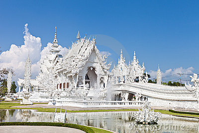 The famous temple of thailand