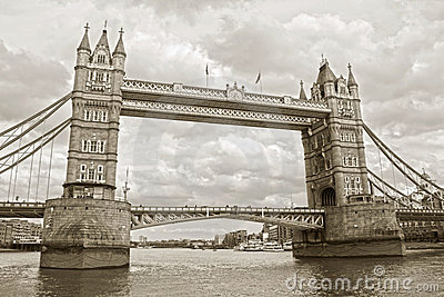 The famous Tower Bridge