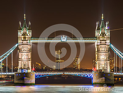 Famous Tower Bridge