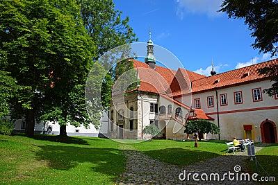 Famous town,cesky krumlov in 2011 summer