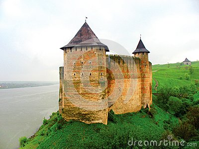 Famous ukrainian fortress Khotin