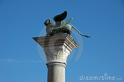 Famous Venetian Winged Lion