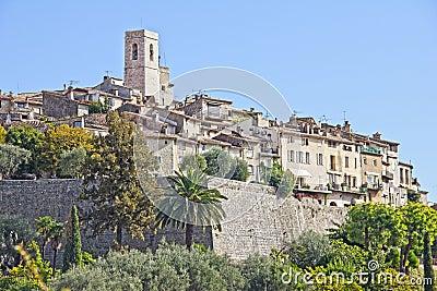 The famous village of Saint Paul de Vence