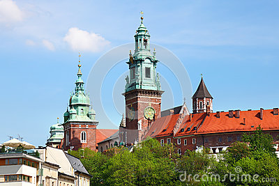famous Wawel Cathedral