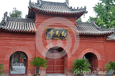 Famous White House Temple in North of China