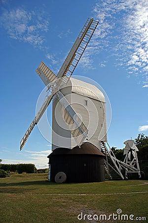 Famous windmill named Jill