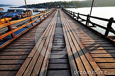 Famous wooden Mon bridge