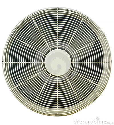 The fan air condition.