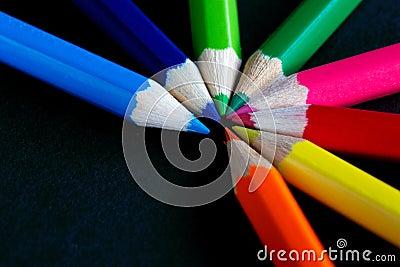 Fan of colour