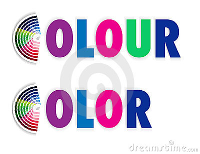 Fan colour or color swatch