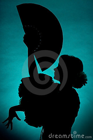Free Fan Silhouette Royalty Free Stock Image - 3588376