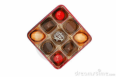 Fancy chocolate box