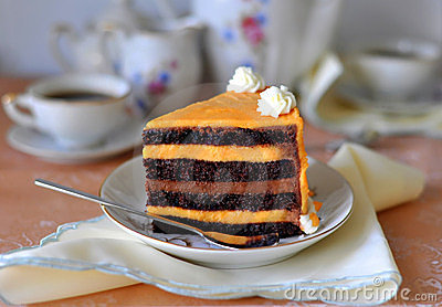 Fancy Chocolate & Orange Cake
