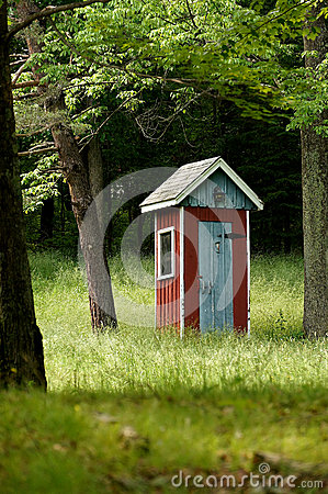 Fancy Country Outhouse