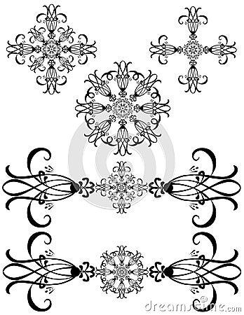 Fancy Detailed Decorations Art