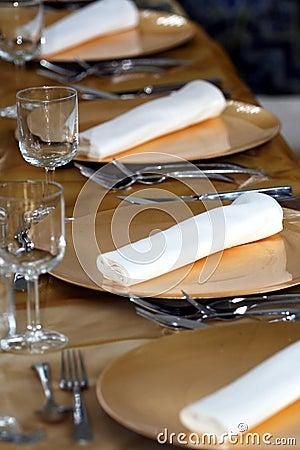 Fancy dinner set