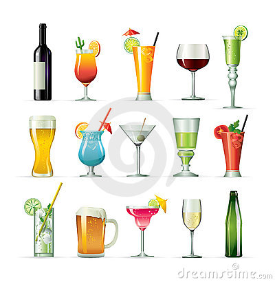 Free Fancy Drink Cocktails Stock Image - 13527261