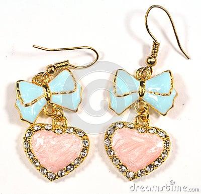 Free Fancy Earring Stock Image - 5419191