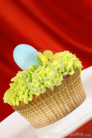 Fancy Easter cupcake