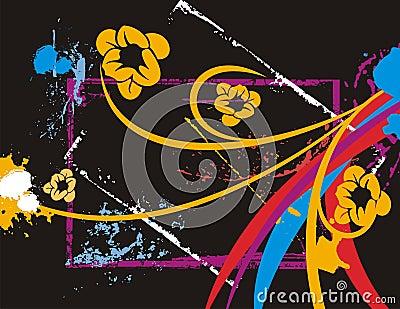 Fancy floral background