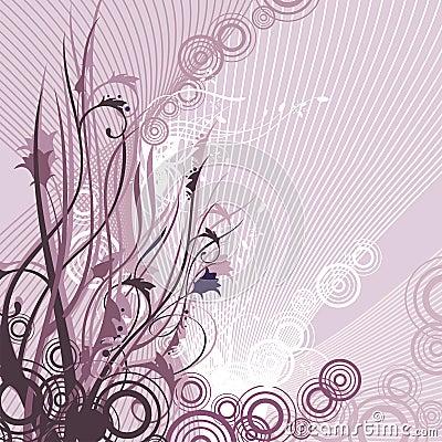 Fancy floral design