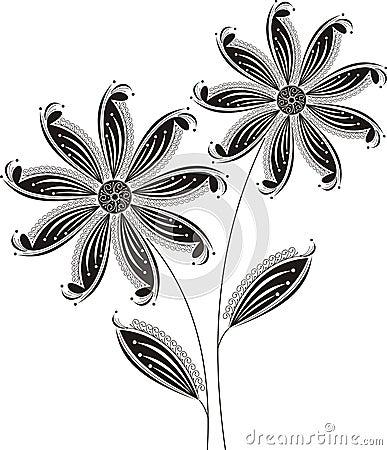 Fancy flourish design