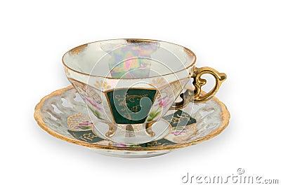 Fancy Gilded Teacup