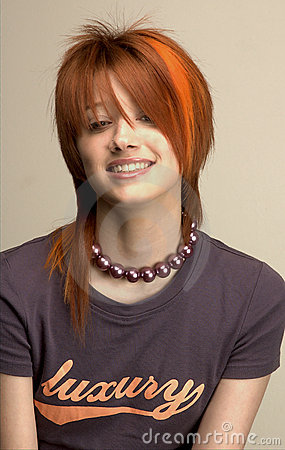 Free Fancy Hair Girl 1 Royalty Free Stock Image - 531656