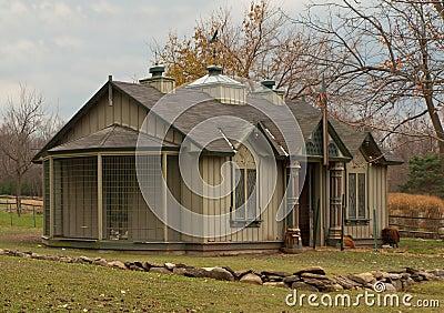 Fancy hen house